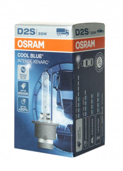 OSRAM D2S 66240 CBI Cool Blue Intense Xenarc mit 6000 Kelvin
