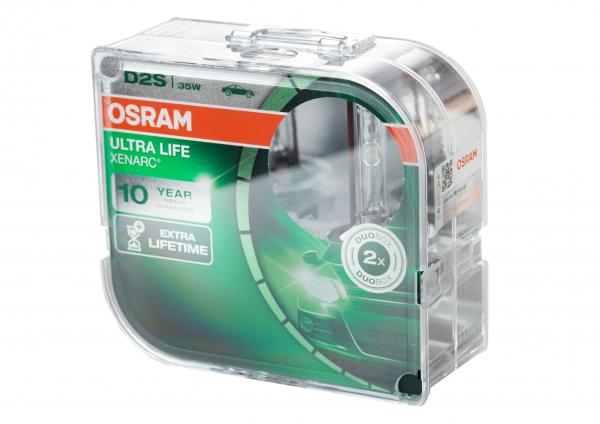 Osram D2S 66240 ULT XENARC® ULTRA LIFE DuoBox (2 Stück)