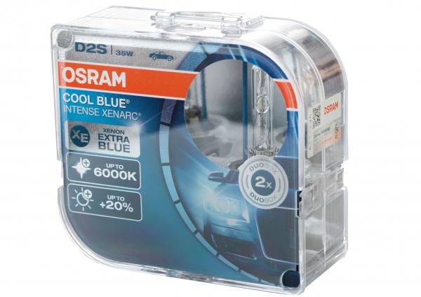 osram d2s 66240 cbi cool blue intense xenarc mit 6000 kelvin duobox 2 st ck. Black Bedroom Furniture Sets. Home Design Ideas