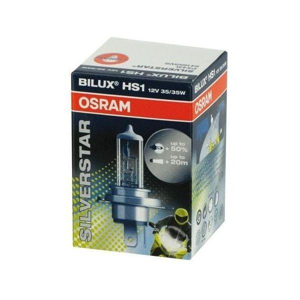 Osram HS1 12V 35/35W Silverstar Vilux Scheinwerferlampe + 50% mehr Licht