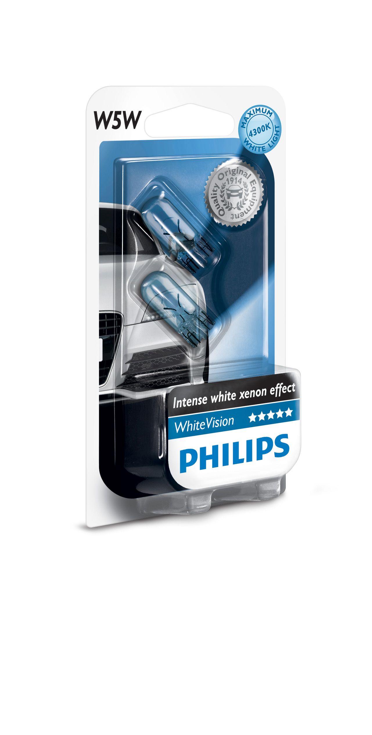 philips w5w whitevision intense halogen lampe 12961nbvb2 online g nstig kaufen. Black Bedroom Furniture Sets. Home Design Ideas