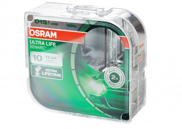 Osram D1S 66140 ULT XENARC® ULTRA LIFE Extra Lifetime DuoBox (2 Stück)