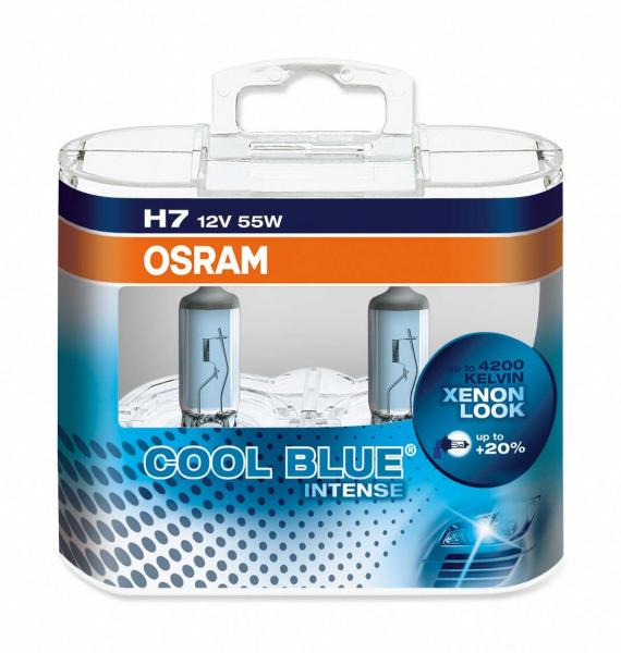 Osram H7 64210CBI Cool Blue Intense Halogen Lampen Duo-Box (2 Stück)