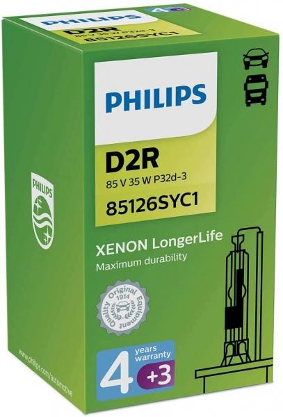 Philips D2R 85126SYC1 Xenon Brenner Longer Life