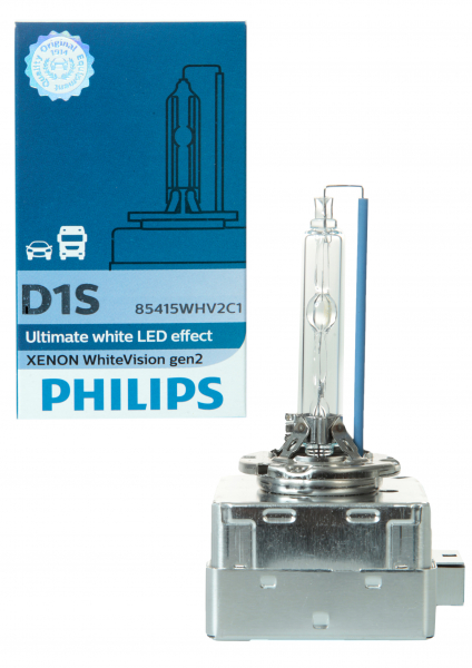 Philips D1S 85415WHV2 WhiteVision gen2 Xenon Brenner in C1 Verpackung