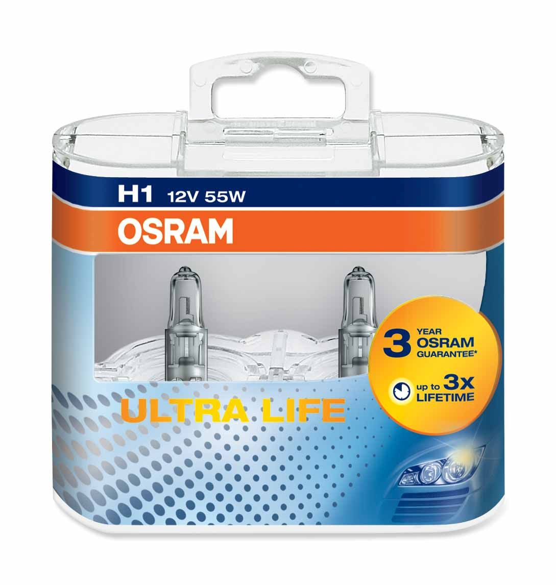 osram h1 ultra life halogen lampen 64150ult online g nstig kaufen. Black Bedroom Furniture Sets. Home Design Ideas
