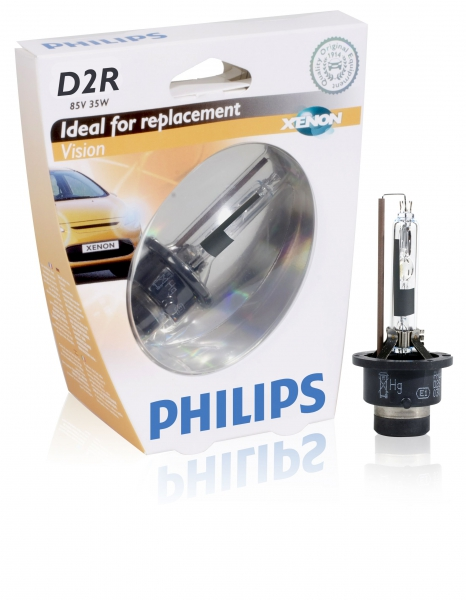 Philips D2R Vision Xenon Brenner 85126VI S1 Verpackung