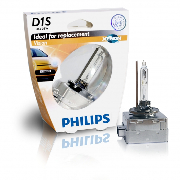 Philips D1S 85415 VIS1 Vision Xenon Brenner in S1 Verpackung