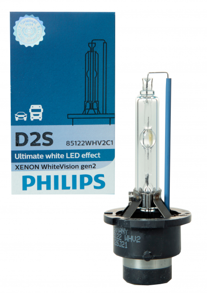 Philips D2S 85122WHV WhiteVision gen2 Xenon Brenner in C1 Verpackung