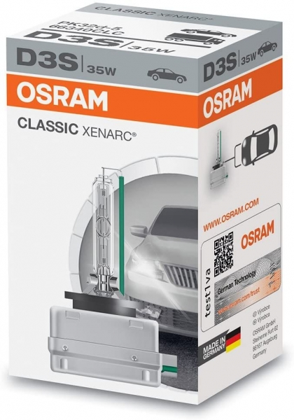 Osram D3S 66340CLC Xenarc Classic Xenon Brenner