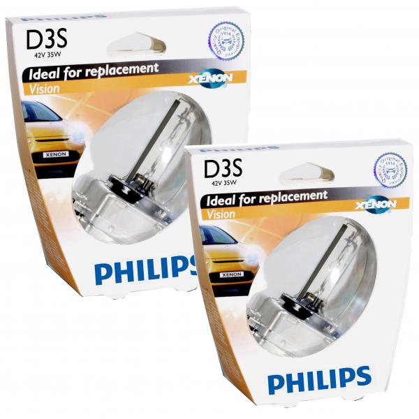 Philips D3S 42403VI Vision Xenon Brenner