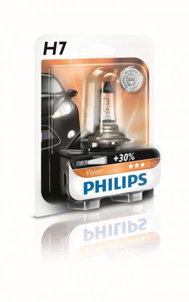 Philips H7 12972 PR B1 Vision +30% Halogen Scheinwerferlampe