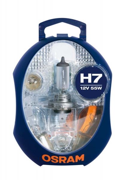 Osram PKW Ersatzlampenbox H7 Halogen 12V 55W