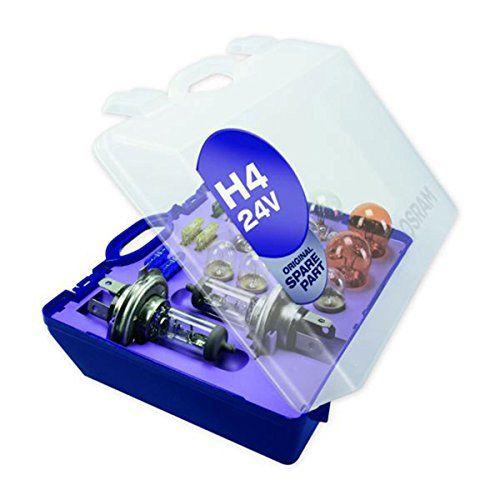 Osram LKW BUS Ersatzlampenbox H4 Original Spare Part 24V 75/70W