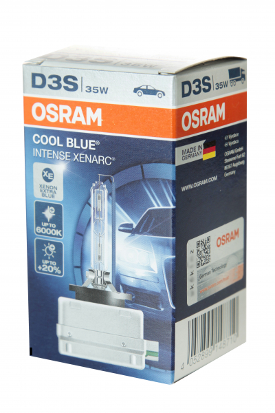 Osram D3S 66340CBI Cool Blue Intense Xenon Brenner