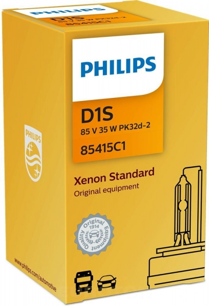 Philips D1S 85415C1 Standard Xenon Brenner C1 Verpackung