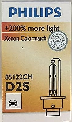 Philips D2S 85122CM Colormatch Xenon Brenner mit 5000 Kelvin
