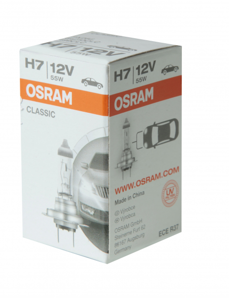 Osram H7 64210CLC Classic Halogen Scheinwerferlampe