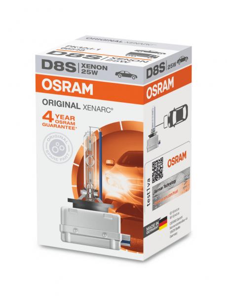Osram D8S 66548 Original Xenarc Xenon Brenner PK32d-1 Scheinwerferlampe